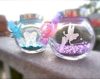 Tooth Fairy Jars, Two Personalized, Fairy Dust (2)