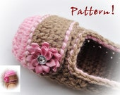 Delicious Crochet Slippers Pattern