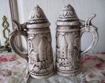 Sweet Beer Stein Shakers  So Cute and Different..:)