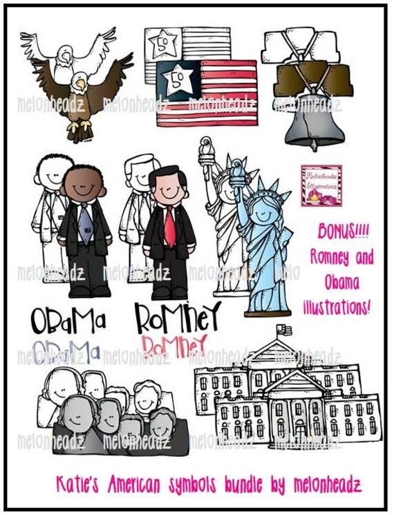 Katie's American symbols combo pack
