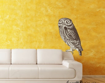 Owl Fabric Wall Decal