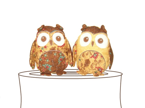 Items Similar To Owl Pillow Home Decor Rustic Cottage