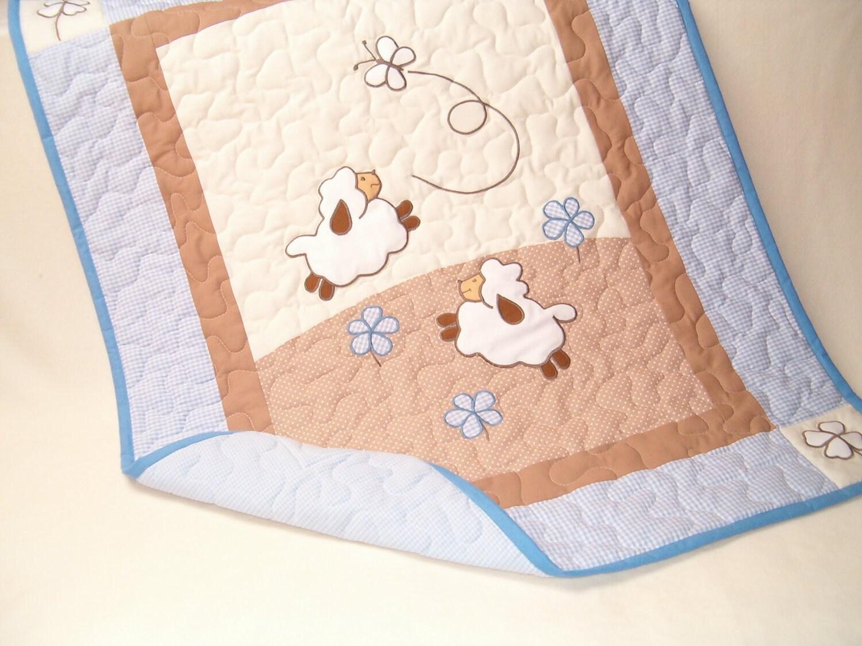 Lamb Baby Crib Bedding