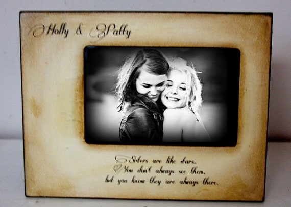 Wedding Gift Ideas For Close Friends: Picture Frame Gift Best Friend Mom Dad Sister Brother 4x6