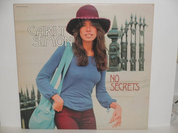 Carly Simon No Secrets With Hit You Re So Vain Elektra