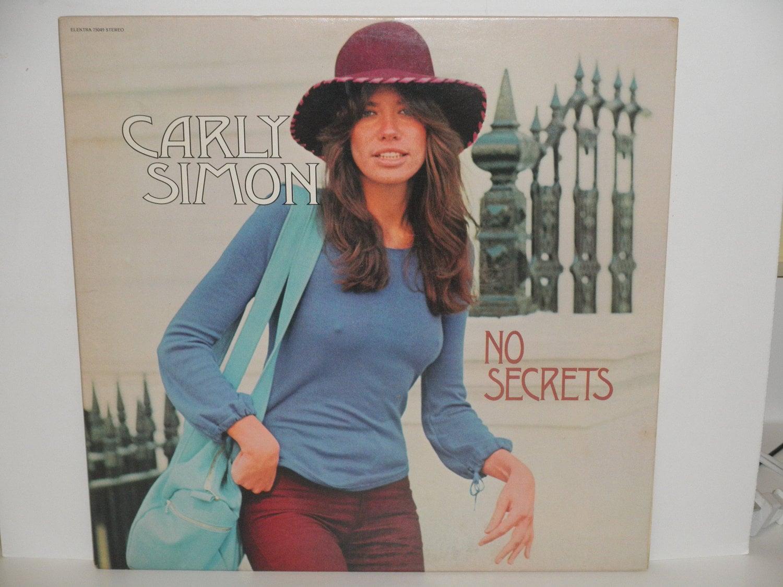 Carly Simon No Secrets With Hit You're So Vain Elektra