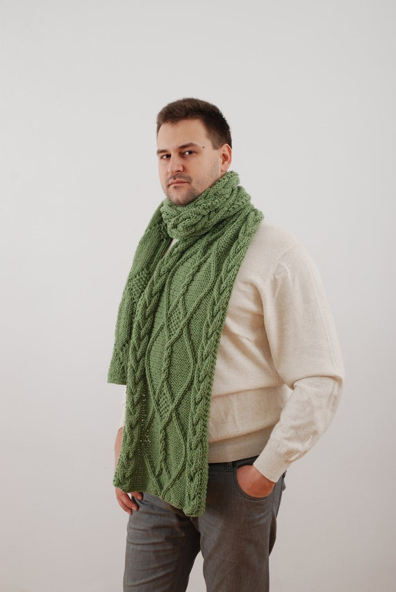 Create a Men's Chunky Hat and Scarf Set to keep any guy warm. Or if you are a man who crochets, treat yourself to this cozy set. This easy crochet scarf and hat pattern would look great in any number of chunky yarn colors.