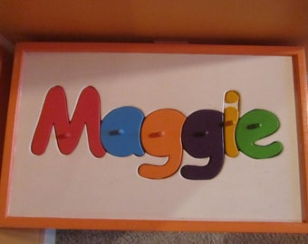 Large Custom Personalized Toy Chest Puzzle