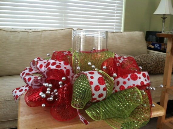 Christmas Center piece / Candle ring
