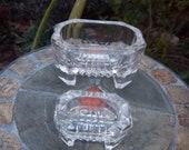 Vintage Salt Cellars Sushi Dip Relish Bowls