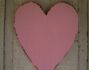 Rustic wooden Heart Rustic Wall hanging Decor Wood Heart Guestbook Alternative