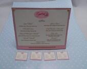 Gaël Miniature Bakery Menu Sign Cakes-Shop