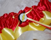 Custom Flash Themed Garter  for Weddings or Conventions
