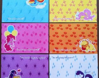 My Little Pony- Postcards Set