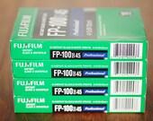 FUJIFILM FP-100B45 4x5 Instant Black & White Film