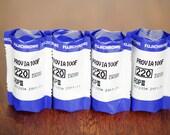 Fujifilm Fujichrome Provia 100F  220 Color Slide Film