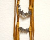 Reserved Item for Mary Beaumont- Chieftesse Fringe Necklace