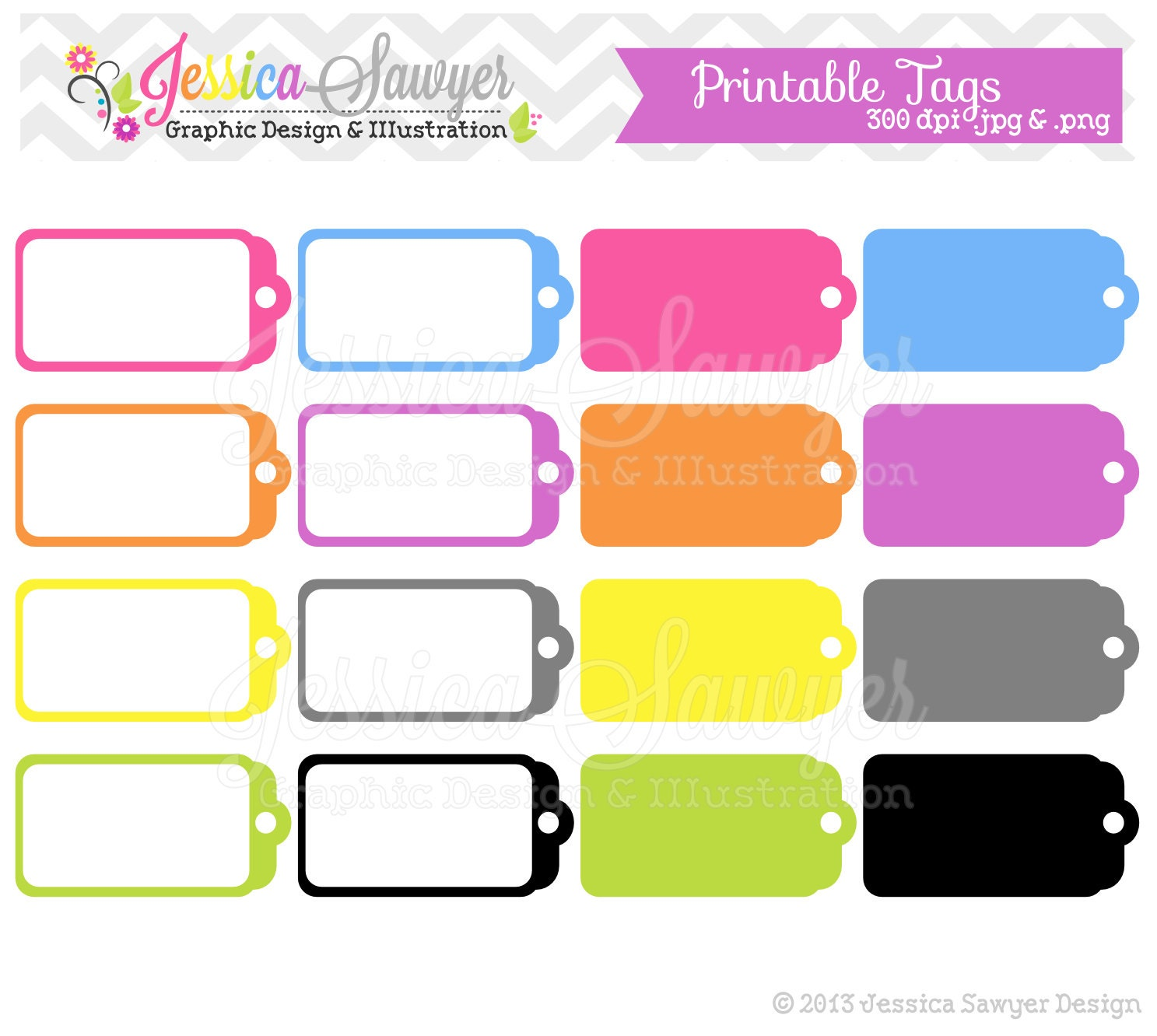 Transformative image intended for printable sale tags