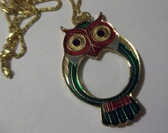Owl Pendant Magnifier