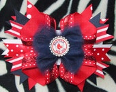 Boston Red Sox Boutique Bow
