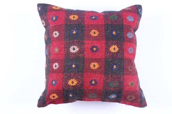 Modern Bohemian Home DecorTurkish Kilim Pillow Cover 16