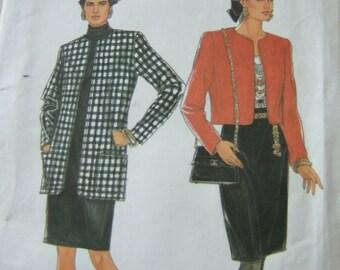 Simplicity 9958 uncut  womens ladies  size 8 - 20      2 piece suit