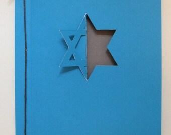 Star of David card