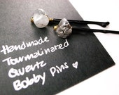 Gemstone Bobby Pins - Gift for Her, Bridesmaids Gifts, Stocking Stuffers, Gifts for Her, Under USD10