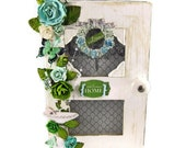Welcome Home Scrapbook Mini Album Altered Art Box