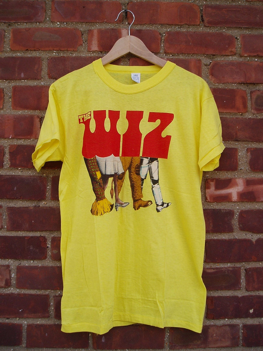 Vintage The Wiz Movie Musical T Shirt Featuring Michael