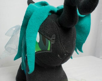 CHIBI Queen Chrysalis MLP Hand-Made Custom Craft Plush