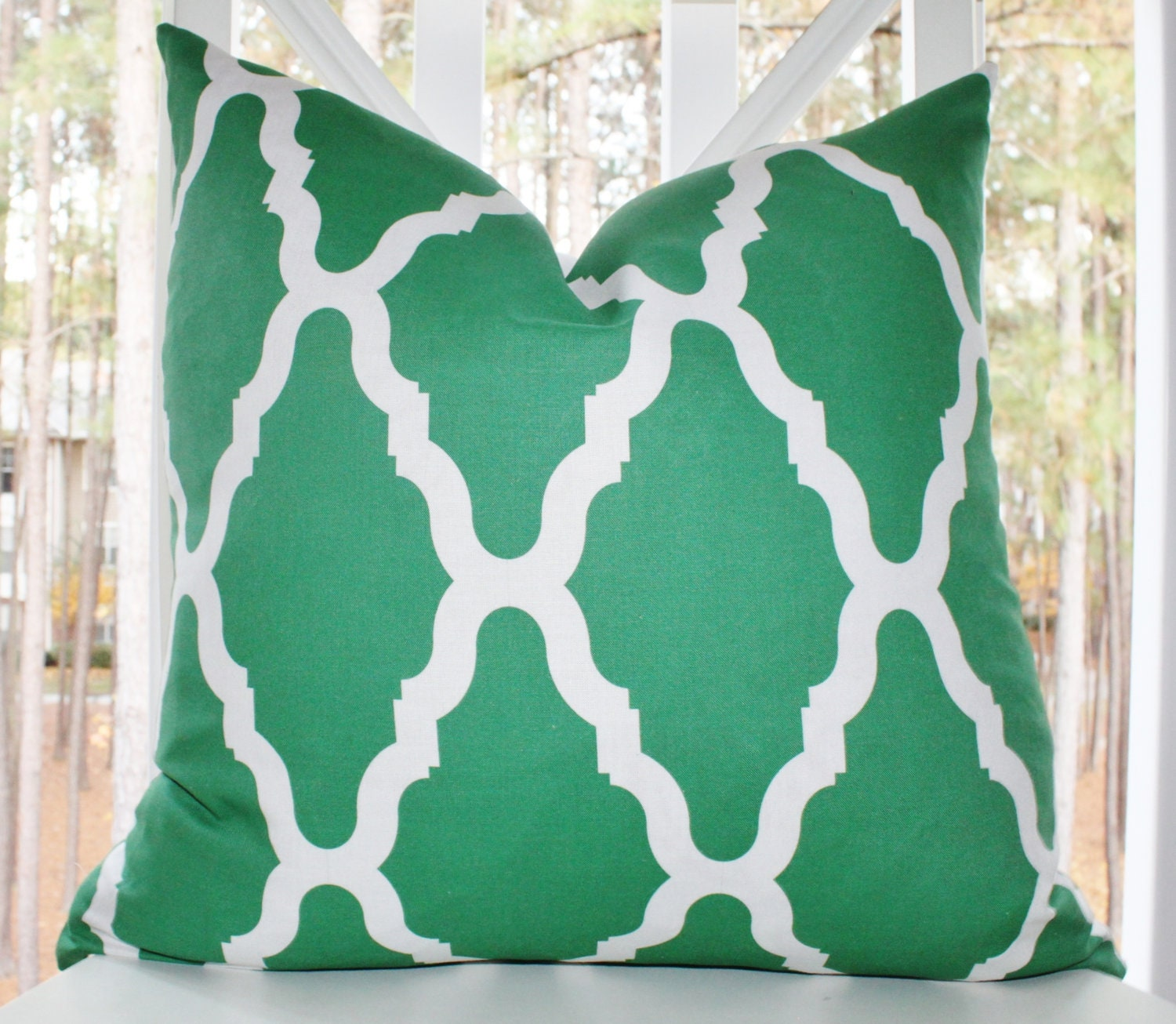 Green Throw Pillows Etsy : Chandeliers & Pendant Lights