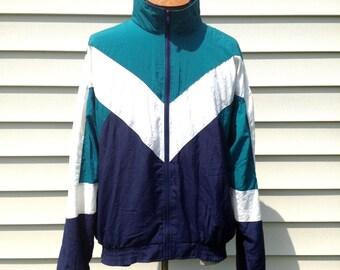 Vintage // Retro Color Block Jacket