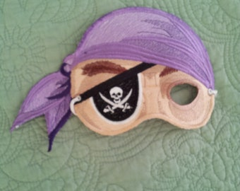Pirate Mask for Halloween or Mardi Gras