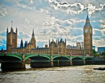 Big Ben and Parliament,London,England-Fine Art Photography-Multiple Sizes Available,Travel,London,Big Ben,Parliament,Color