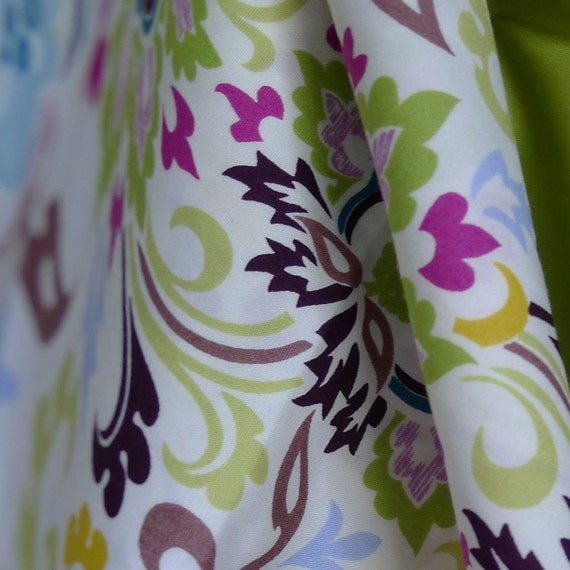 Art Gallery Fabrics - Paradise Ivory Double Bloom 1/2 YARD