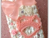 Sweetheart Bow Whipped Cream iPhone 4/4s Case