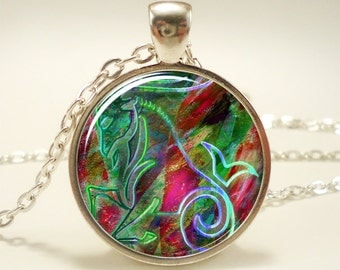 Capricorn Necklace, Zodiac Sign Pendant, Constellation Jewelry (1272S1IN)