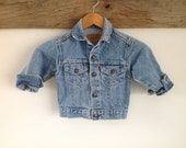 Vintage Toddler Levi's Jean Jacket