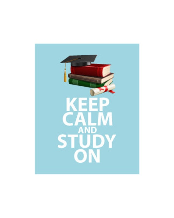 Rooms: Items Similar To Keep Calm And Study On Motivational