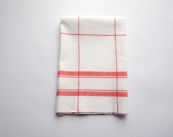Kitchen linen towel with cotton, dish tea towel, organic tea towel, linen hand towel