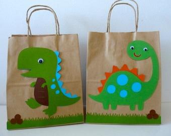 Dinosaur goodie bag | Etsy