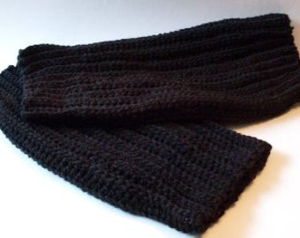 Primitive Folkart Plus Size 1X to 2X Ladies Black Legwarmers That Fit  We Ship Internationally