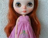 Dress Embroidery rococó for Blythe & Pullip Doll