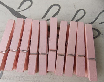 ballet pink clothespins