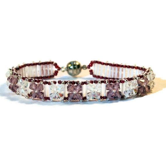 bracelet birthstone swarovski crystal tennis by. Black Bedroom Furniture Sets. Home Design Ideas