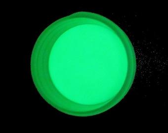 Craft Glow Bright Green Glow in the Dark Pigment Powder 1oz