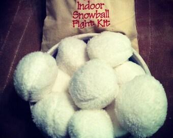 Deluxe Indoor Snowball Kit