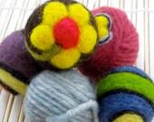 Felted Wool Catnip Balls