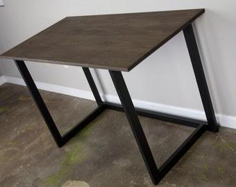 Minimalist desk Etsy